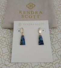 Kendra Scott Noah Small Drop 14k Gold-plated Abalone Shell Earrings