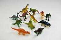 12 Dinosaurier Dino verschiedene Arten ca. 14 cm groß Mitgebsel Kindergeburtstag