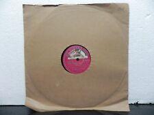 "Pt D . V. Paluskar Classical Vocal 78 Rpm 10"" Record HMV  N. 88155 Indian NM"