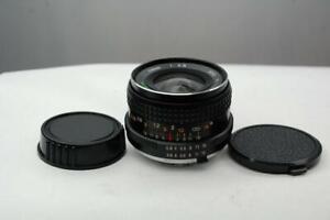 Tokina RMC 28mm f2.8 Minolta manual focus, MINT-