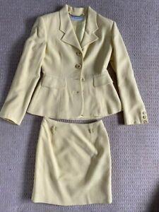 Karen Millen size 8 Yellow suit