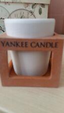 Yankee Candle Rustic Modern Terracotta Votive Holder New