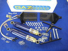 MGB NEW GAZ FRONT & REAR SHOCK ABSORBER KIT WITH BRACKETS ALL MODELS
