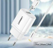 Ugreen USB Charger EU Adapter Mini For iPhone Samsung Earphones Universal New