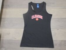 NCAA By KA Inc. Clemson Tigers black logo athletic activewear tank top shirt M