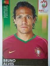 Panini 110 Bruno Alves Portugal UEFA Euro 2008 Austria - Switzerland