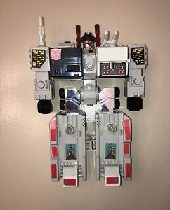 Metroplex 1985 G1 Transformer Action Figure (near complete)