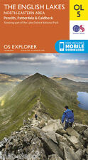 THE ENGLISH LAKES (North Eastern Area) EXPLORER Map - OL5 - OS Ordnance - *NEW*