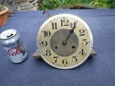 RARE Gustav Becker P48 Clock Movement Including Face & Hands Spares &/Or Repair