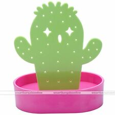 Cactus Display Stand Holder Organizer For 28 Holes Earring Jewelry Show Rack #2