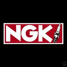 NGK Spark Plugs Stickers Rally GP Old Vintage