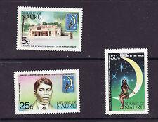 Nauru # 105-07 MNH Complete Set