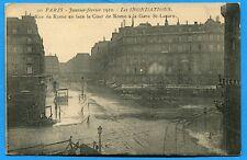 CPA: Paris - Rue de Rome en face la Cour de Rome à la gare St-Lazare