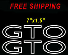 GTO Decals Stickers GTO LS1 LS2