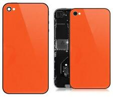 Orange Glass Back Screen Replacement Rear Case Cover Assembly for iPhone 4S