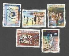 France oblitérés - Le siècle au fil du timbre N°3351 à 3355 - TB - 2000