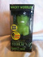 Super Rare Funko The Incredible Hulk Wacky Wobbler Glow In The Dark Bobble head