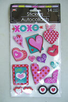 Stickers Autocollants 14 Count for letters cards envelopes Scrapbook & More New