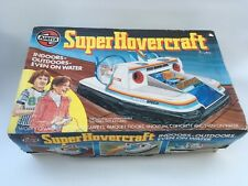 Vintage Airfix Super Hovercraft Completed Kit + Box in Working Order -1980  Rare