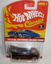 Hot Wheels Customized VW drag truck red