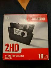 Nine (9) Imation Floppy Disks 1.44MB  2 HD 3.5 Inch Double Sided