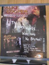 ALICE COOPER Brutal Planet poster 18x24