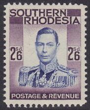 SOUTHERN RHODESIA - 1937 2s6d Ultramarine and purple - UM / MNH