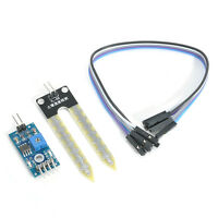 Soil Humidity Hygrometer Moisture Detection Sensor Module Arduino w Dupont Wires