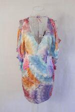"""Seduce"" Size 8 - Ladies Silk Dress with pastel design, Bargain Price! BNWT!"