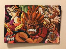 Street Fighter Zero Carddass Special Zero 42