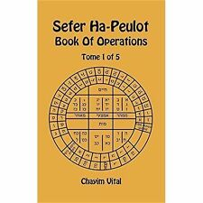 Sefer ha-peulot-Libro delle operazioni-TOMO 1 del 5 da chayim Vital (Rilegato,.