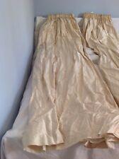 Laura Ashley - gorgeous Dupion silk curtains