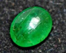 0.80 Ct 100% Natural Rich Green Zambian Emerald AGSL Certified Untreated Gem