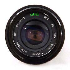 Sirius 70-200mm f4.5-5.6 SR-G MC Zoom Macro Pentax K-A.R