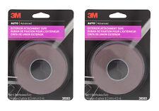 "3M 38583 1/4"" x 15' Exterior Attachment Tape (2 Pack)"