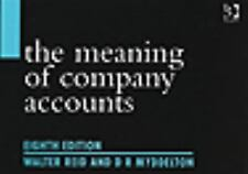 The Meaning Of Company Accounts-ExLibrary