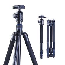 Manbily AZ-300 DSLR DC Camera Tripod Monopod Ballhead Axis Inverted Alpenstock
