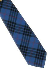 Tartan Tie Morgan or MacKay Blue Modern Scottish Plaid Ships free in US