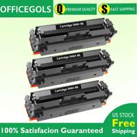 3 PK Black Laser Toner For Canon 046H BK imageCLASS MF735Cdw MF733Cdw 1254C001