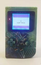 Custom Pokemon Gameboy DMG With Backlight and Bivert. 6 Mods!