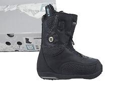 New! $330 Burton Supreme Snowboard Boots! Us 4 Uk 2.5 Euro 34 Mondo 21 Black