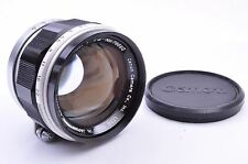 CANON 50mm/F1.4 Leica 39mm LTM Leica screw mount From JAPAN