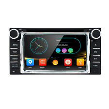 In dash 2Din Car Player DVD Radio GPS Fit For Toyota Highlander Sequoia Tundra