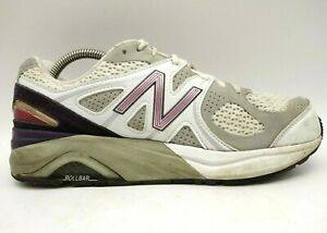 New Balance 1540 Heritage Gray White Mesh Lace Up Running Shoes Women's 9.5 EE