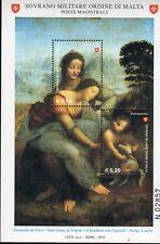 2010 S.M.O.M. SMOM Maestri Della Pittura Ii° Foglietti MNH**