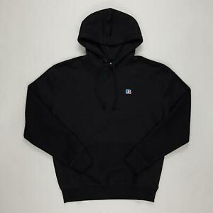 RUSSELL ATHLETIC Oversize Hoody in BLACK