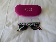 ELLE GIRLS CLAM SUNGLASSES 2018 STYLE IN PINK CASE - NEW