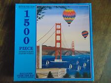 1500 Puzzle Bits & Pieces Balloons Over The Bay Sealed! 1500 piece  NICE!