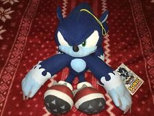 """Official GE 12"""" SONIC THE WEREHOG Sonic Plush Toy Doll 2016 Used"""