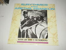 "Eurythmics And Aretha Franklin ‎– Sisters Are Doin' It For Themselves - 12"" MAXI"